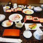 湯の山温泉三峯園の朝食