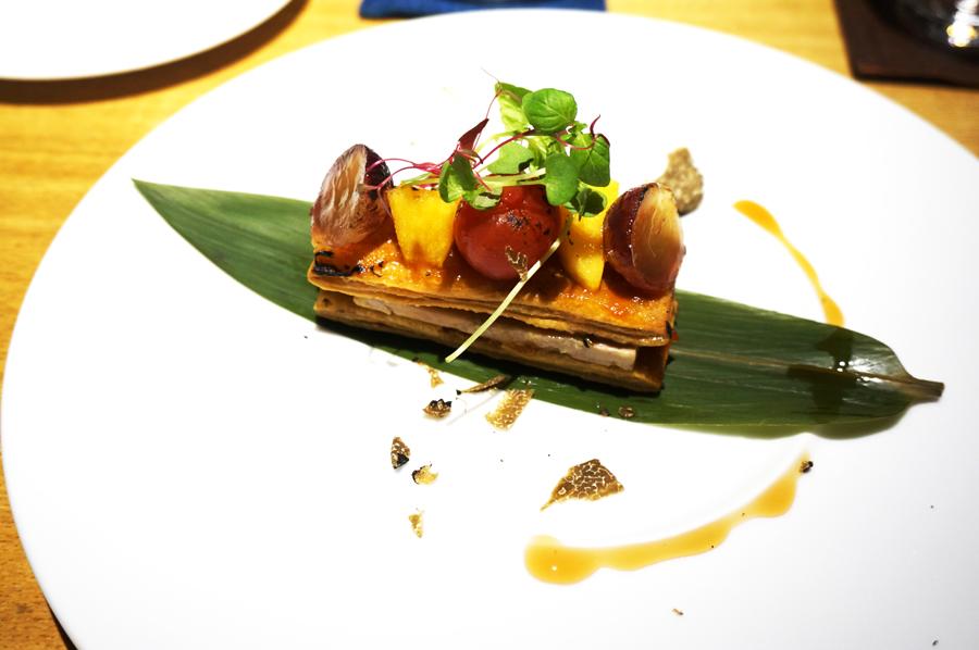 ホテルカンラ京都 THE KITCHEN KANRAのディナー