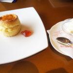 神戸ポートピアホテルオーバルクラブのティータイム