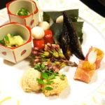 おごと温泉びわこ緑水亭 お部屋食の京懐石夕食「弥生膳」