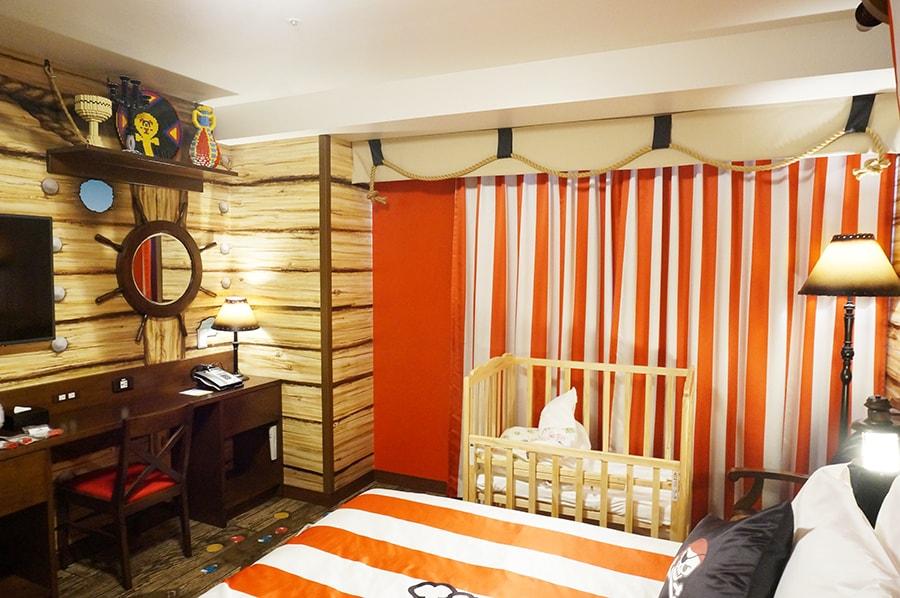 レゴランドホテルパイレーツスイートルーム