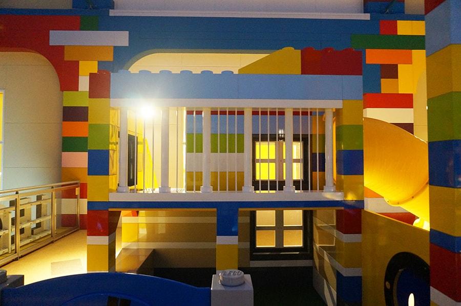 レゴランドホテルのブリックスファミリーレストランディナーブッフェ