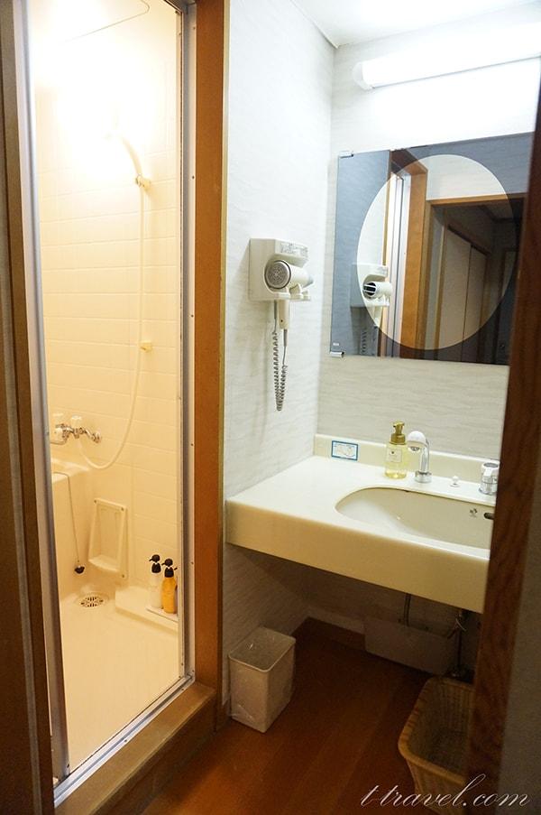 大江戸温泉下呂新館12.5畳の和室のお部屋