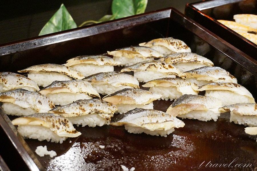 大江戸温泉物語下呂新館の夕食ディナーバイキング