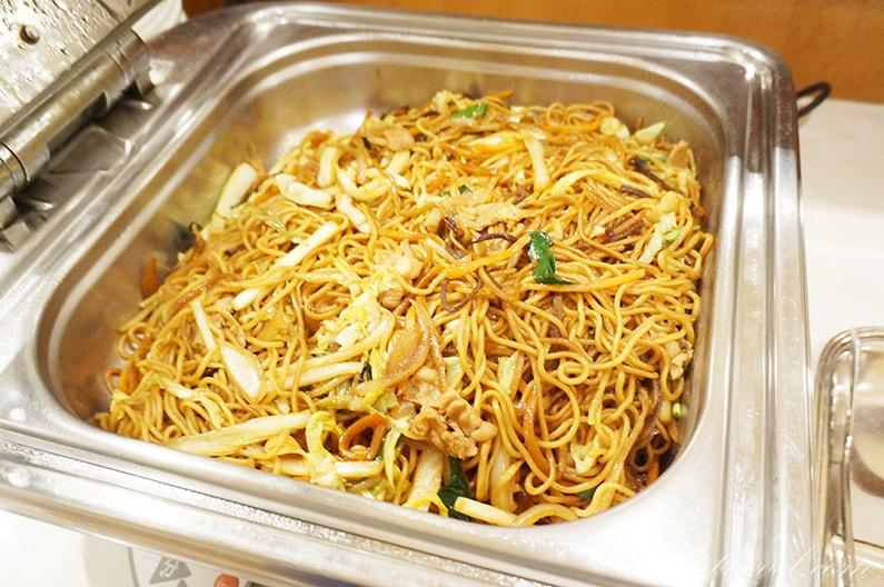 名鉄犬山ホテルの夕食ディナーバイキングのメニュー
