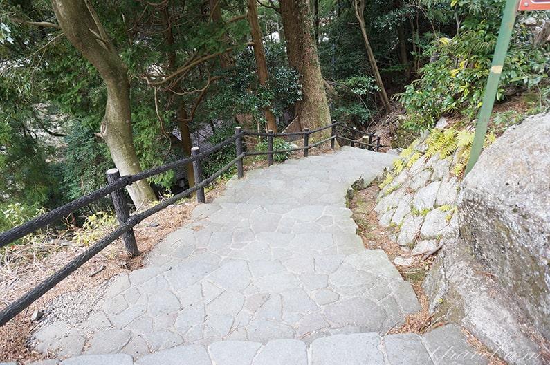 三重県湯の山温泉寿亭の宿泊記御在所ロープウェイ
